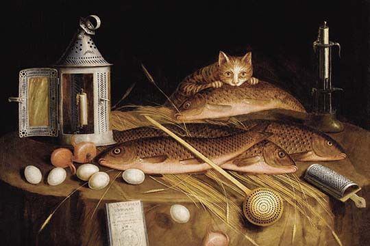 The still-life painter Sebastian Stoskopff (1597-1657), whose work inspired the present painting, was a native of Strasbourg. His still lifes forged an interesting blend of influences from the Hanau/F