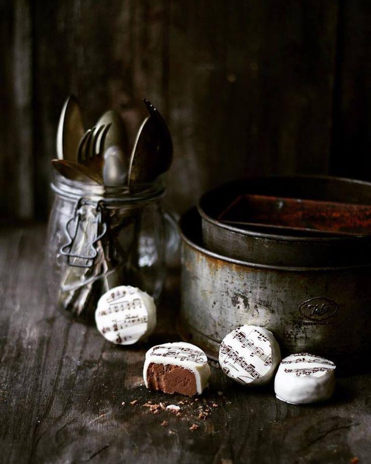 """Polvorones de chocolate (de mi libro """"Chocolate"""")"""