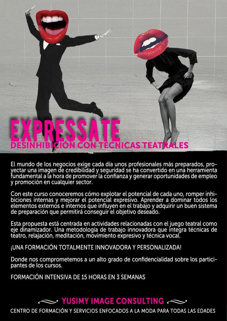 EXPRESSATE, curso de desinhibición con técnicas teatrales.