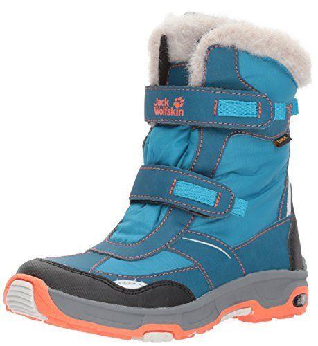 Jack Wolfskin Girls Snow Flake Texapore, Bottes de Neige fille: Le Jack Wolfskin flocon de neige livre est une botte d'hiver imperméable…
