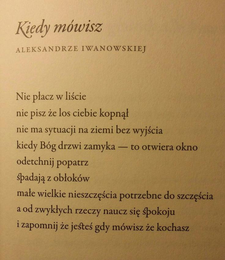 """""""i zapomnij że jesteś gdy mówisz że kochasz""""  Ks. Jan Twardowski """"Potrzebne do szczęścia"""""""