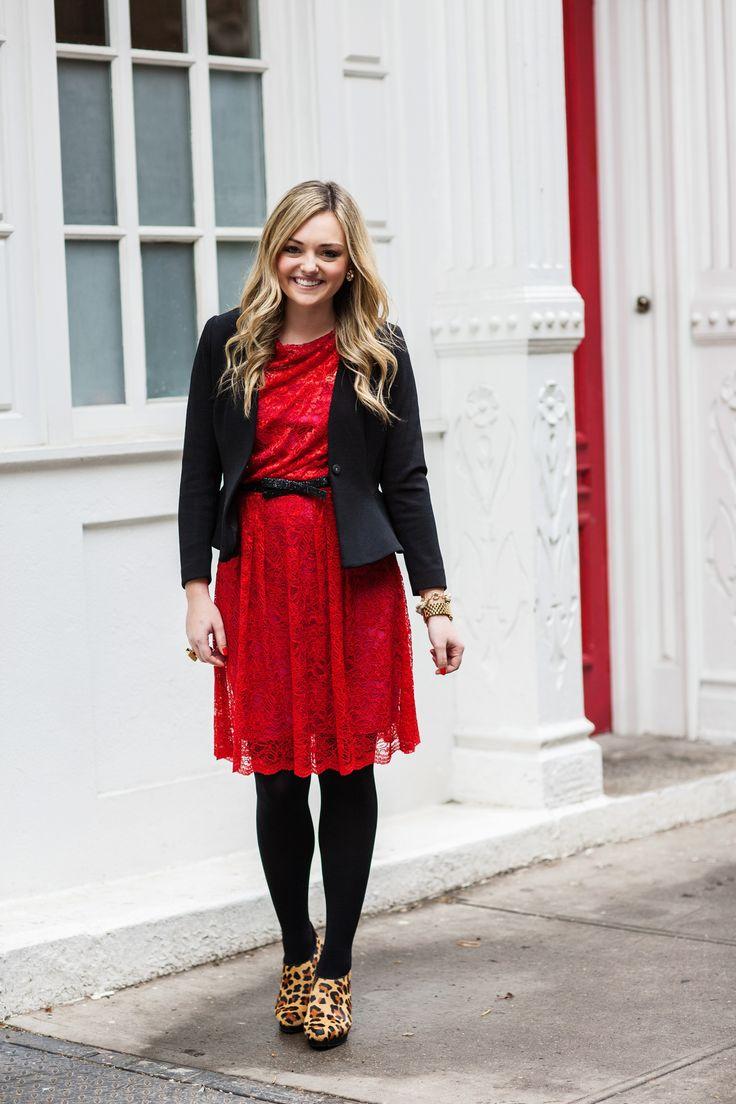Fascinating Red Work Dresses