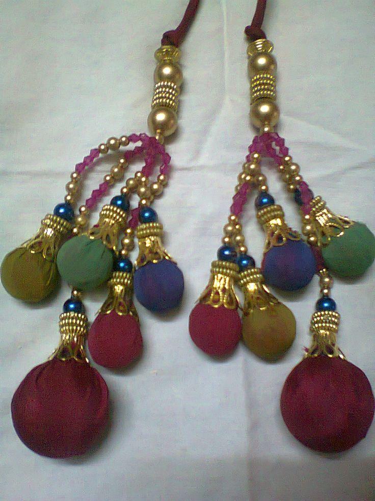 Multi Colour Latkans #HandmadeCreations