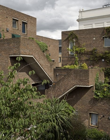 Odham's Walk by Greater London Council Architects Department