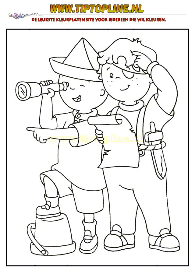 kleurplaat piraat woeste willem - Google Search