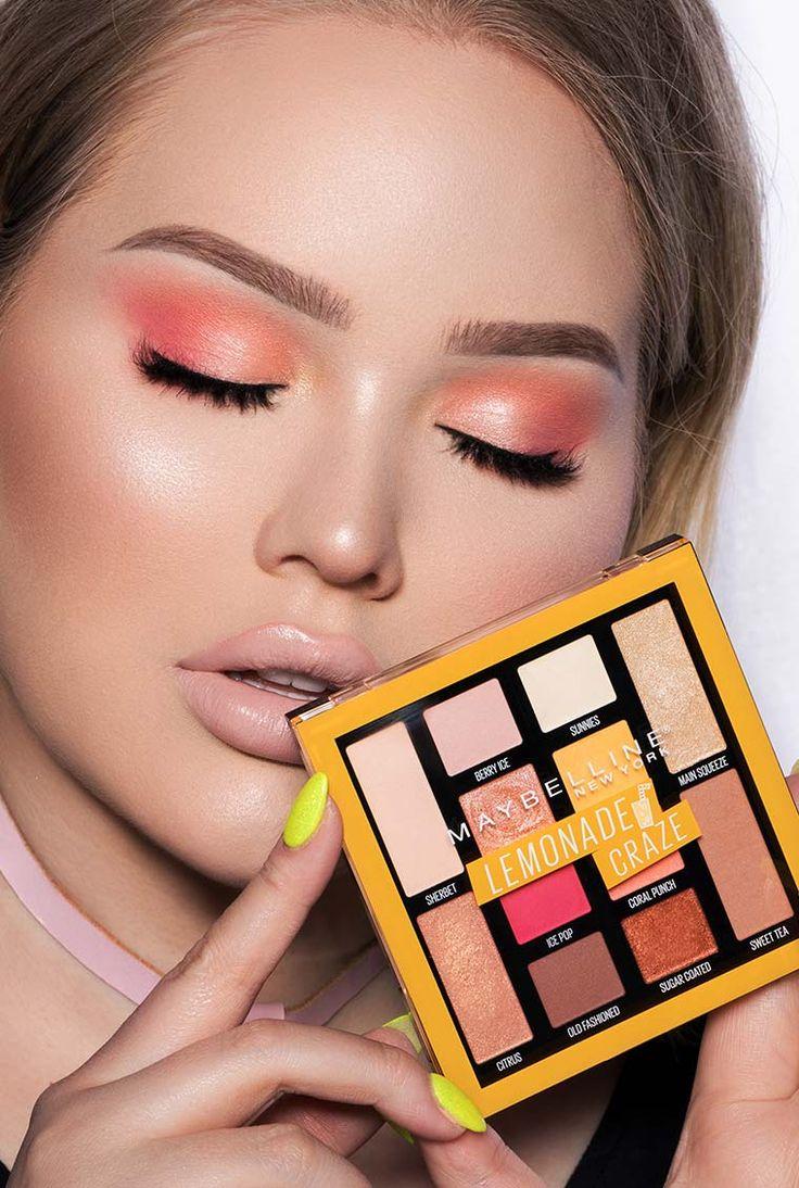 Get this lemonade cherry eyeshadow look Nikkie Tutorials