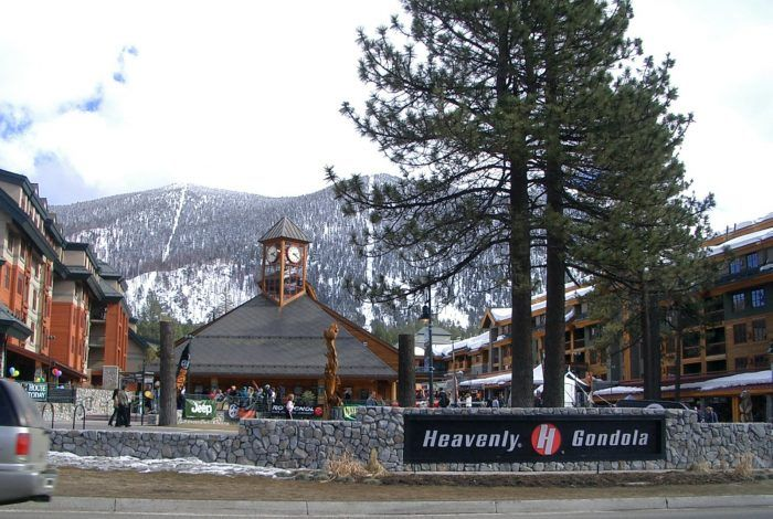 The Heavenly Ridge Rider Mountain Coaster is located at 4080 Lake Tahoe Blvd, South Lake Tahoe, CA 96150