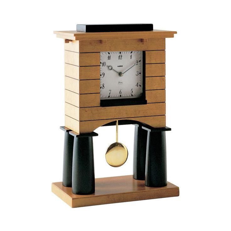 Discover+the+Alessi+Mantel+Pendulum+Clock+at+Amara