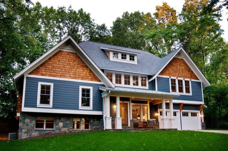 Best Pacific Blue Siding Exterior Craftsman With Clapboard 400 x 300