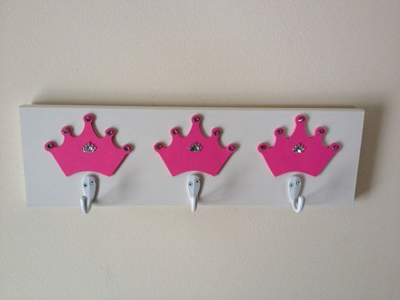 Hey, I found this really awesome Etsy listing at https://www.etsy.com/listing/184505100/hot-pink-and-white-princess-crown-theme