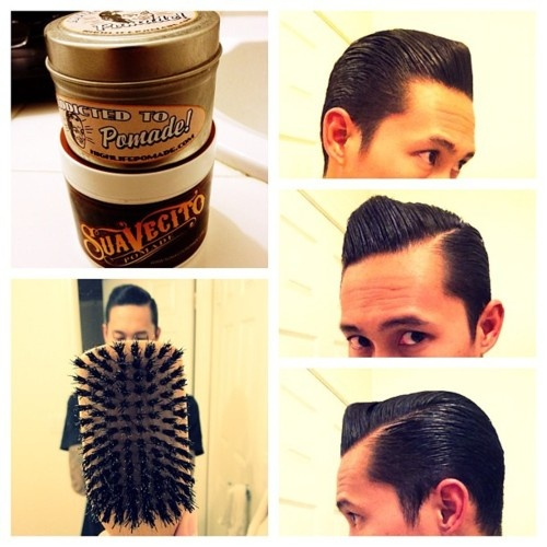 how to style your hair with pomade 17 best images about hair styles on hairstyles 7434