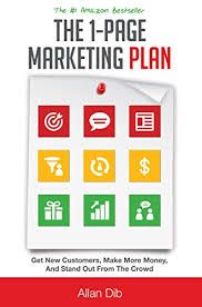 About Marketing, Startup, business: One page marketing Plan