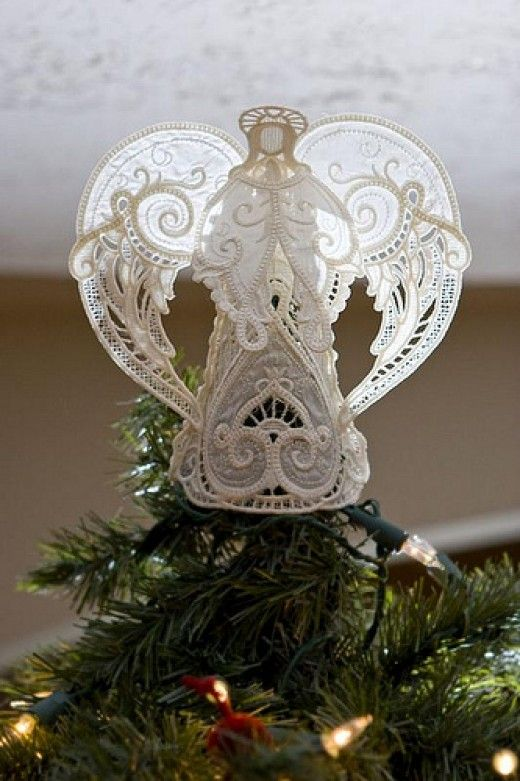 Beautiful Angel Christmas Tree Topper