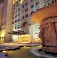 Enterance to the  Michelangelo Hotel.  Quote and book http://www.south-african-hotels.com/hotels/michelangelo-hotel-sandton/