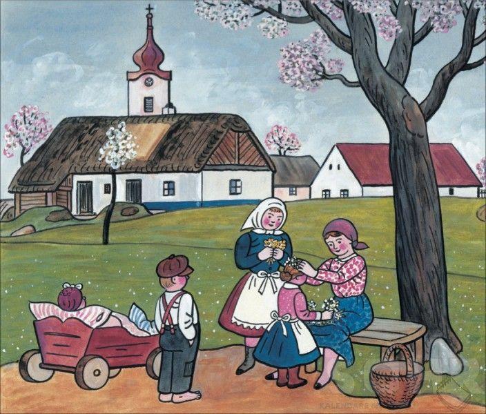Spring - Josef Lada