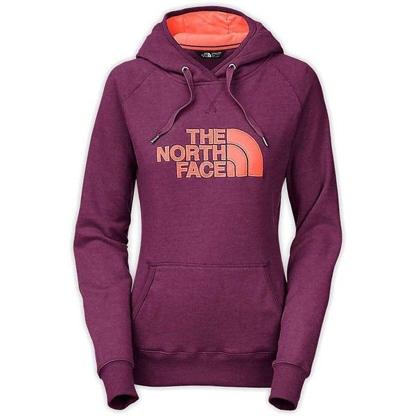 The North Face Women's Avalon Pullover Hoodie ($55) ❤ liked on Polyvore featuring tops, hoodies, drawstring hoodie, pullover hoodies, raglan hoodie, hooded pullover sweatshirt and metal hoodie