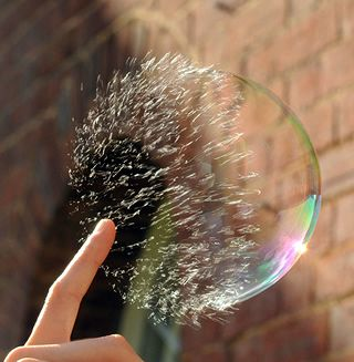 when the bubble burst