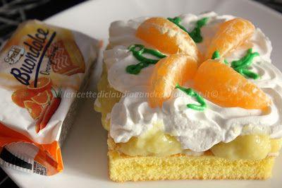 Le    ricette    di    Claudia  &   Andre : Tortino Buondolce agli agrumi con lemon curd e pan...