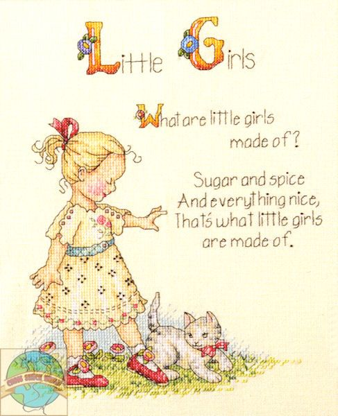 Little Girls..What are little girls made of? Sugar and Spice and everything nice, that's what little girls are made of.