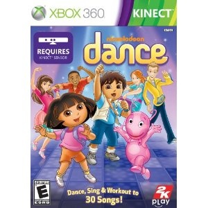 Nickelodeon Dance for the XBOX 360 with Kinect. Kiddo and I could dance together!!!