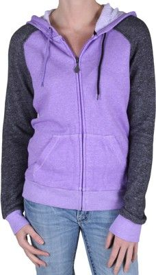 Volcom Moclov Zip Hoodie - vibrant purple - Women's > Women's Clothing > Women's Hoodies & Sweatshirts > Women's Hoodies