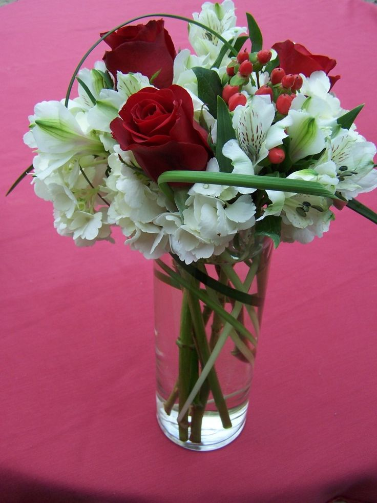 7 best Floral Arrangements with roses or beargrass images on ...