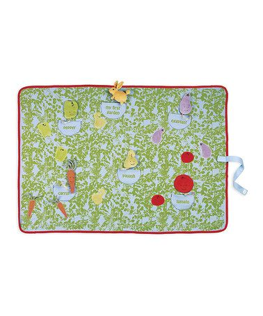 Love this Garden Hop Activity Blanket/Mat on #zulily! #zulilyfinds