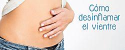 Remedios caseros para el vientre hinchado