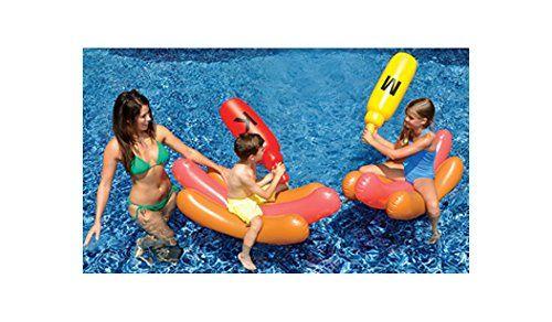 Swimline Hotdog Battle Ride On Swimline http://www.amazon.com/dp/B00QMPNMMK/ref=cm_sw_r_pi_dp_8WLdxb0Z4B2S8