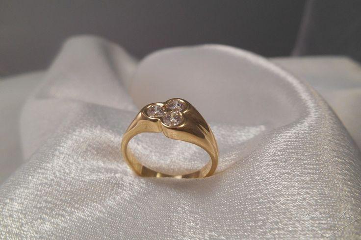 Bague diamant «Trianne»   Bijoutier & Joaillier André PETIT