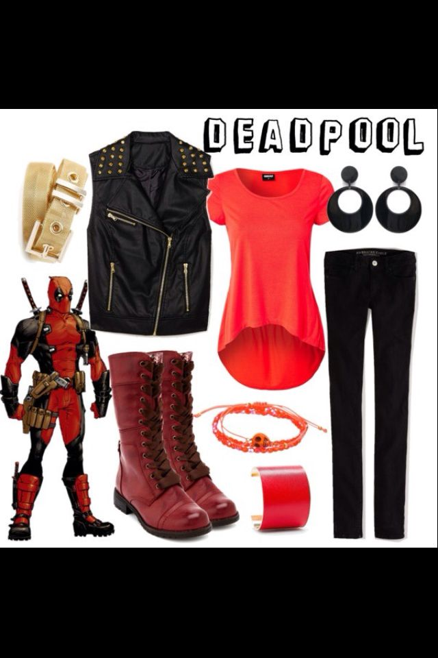 Deadpool outfit!! I wants!!!