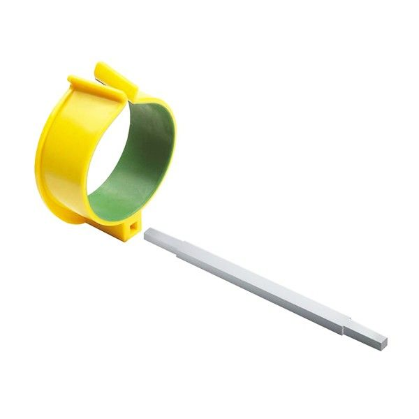This simple Arm Support Cuff can make a world of difference to your gardening experience. The aluminium rod plugs into the back of any Easi-Grip® garden tool and allows you to use the strength of the forearm for all gardening activity, reducing stress on hand and wrist. You will be amazed at what a difference this can make.