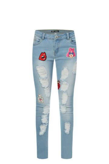 Badge Ripped Skinny Jeans from Mr Price R229,99