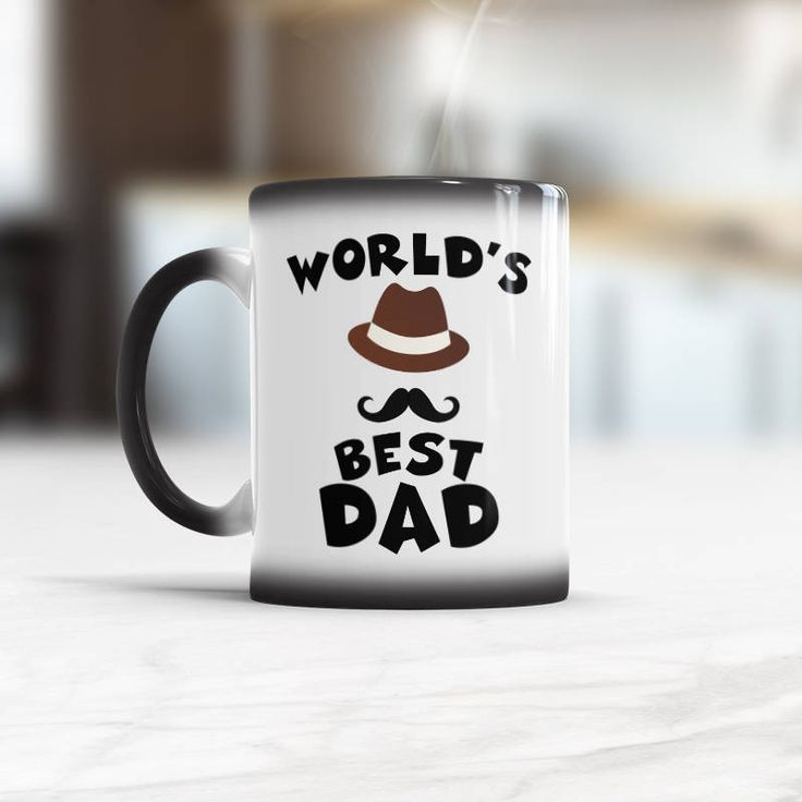 Worlds Best Dad mug Gifts for Dad Coffee Mug Birthday Dad Gift Best Dad Ever Fathers day mug World's Best Dad Cup New daddy gift quote mug