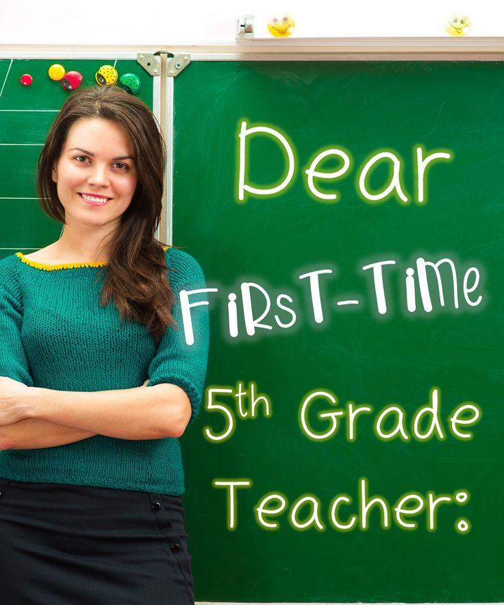 dear fifth grade teacher blog pin pic