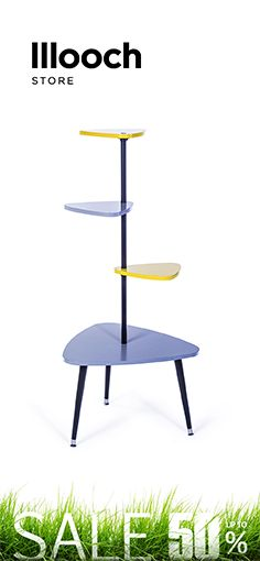 The retro-style #bookshelf Duck is compact and practical. A bright accessory to liven up any space. #shelf #coffeetable #interiordesign