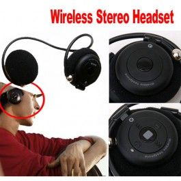 Wireless Stereo Headphone Head​set Microphone Mic For MP3 PC Laptop - 21$