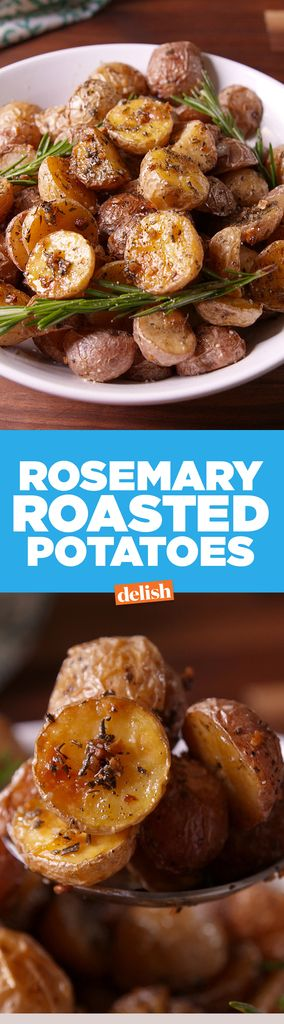 Rosemary Roasted Potatoes-for me: no garlic. no pepper