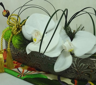 $290.00  White Moth Orchid