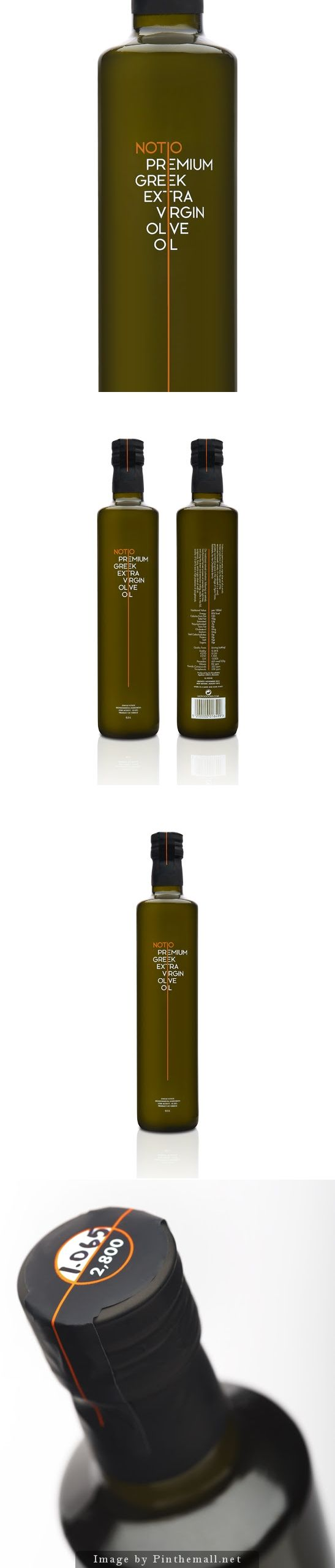 Notio Premium Extra Virgin Olive Oil designed by Yiorgos Yiacos (of The Comeback Studio)