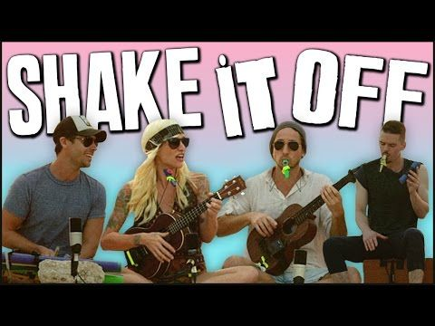 "This cover of ""Shake It Off"" may be better than the original. Love it!"