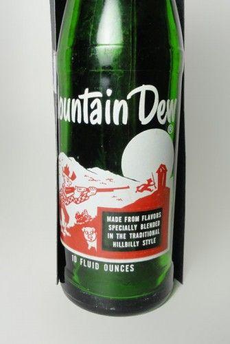 vintage mountain dew soda bottles eBay