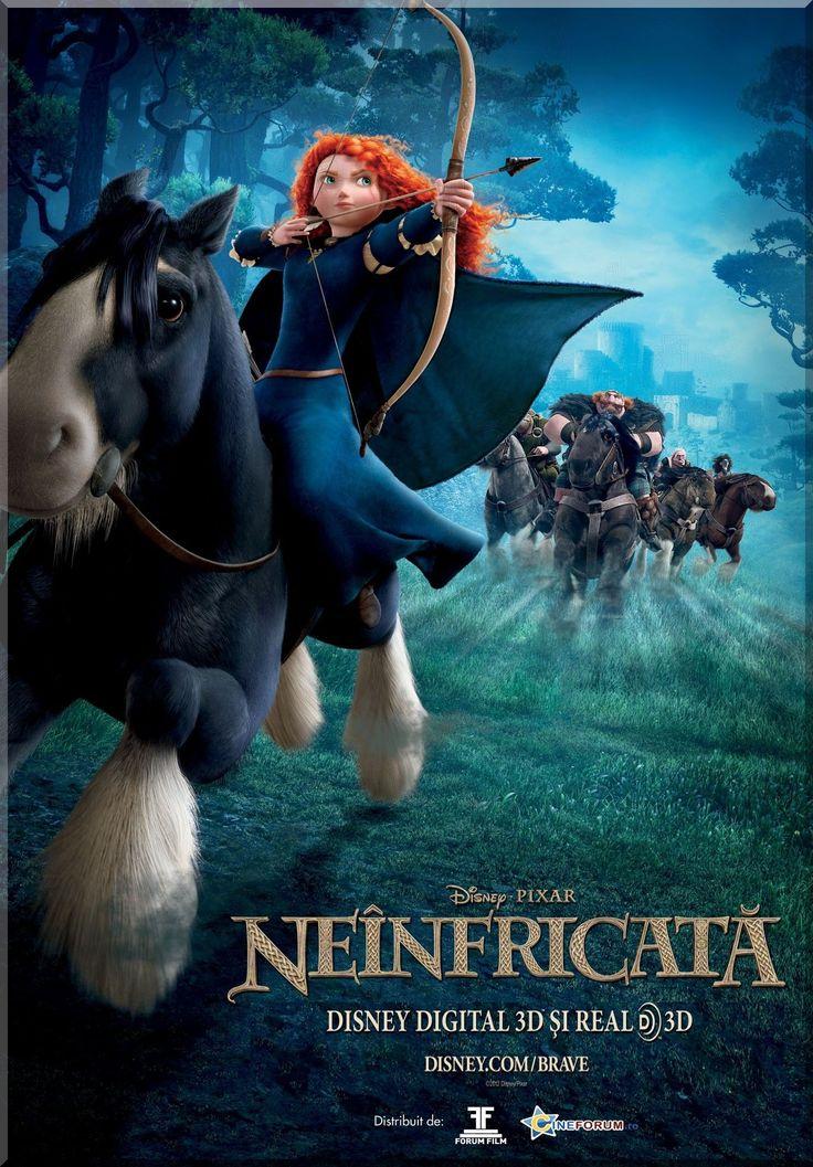 Brave 3D: Fantezie / Familie / Comedie / Aventura / Actiune / Animatie / 100 min / AP / Dublat