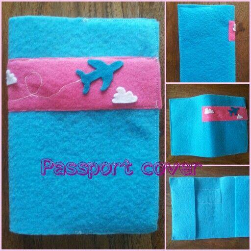 felt passport cover