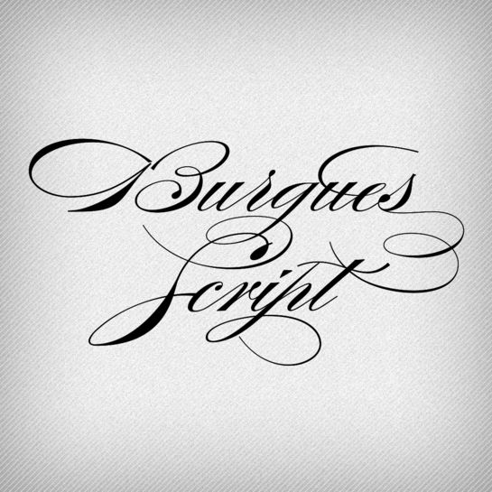 Burgues Script by Ale Paul. A typeface that is perfect for weddings.