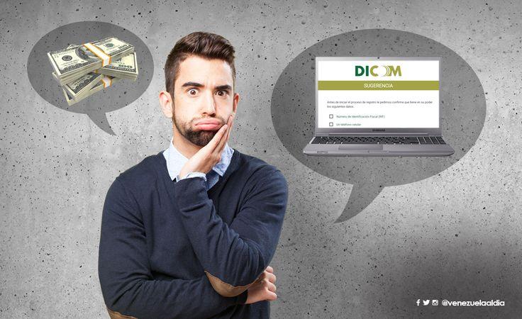 Cómo solicitar dólares por Dicom sin morir en el intento
