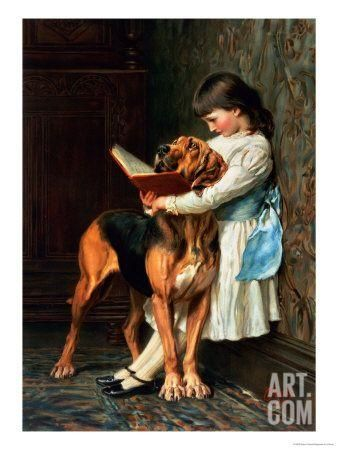 Naughty Boy or Compulsory Education Giclee Print by Briton Rivière at Art.com