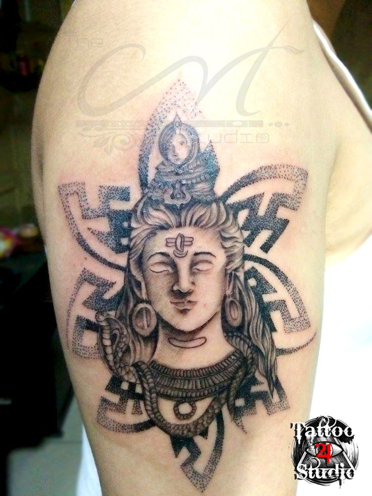 Lord Shiva Tattoo By Ar Sam Mehra