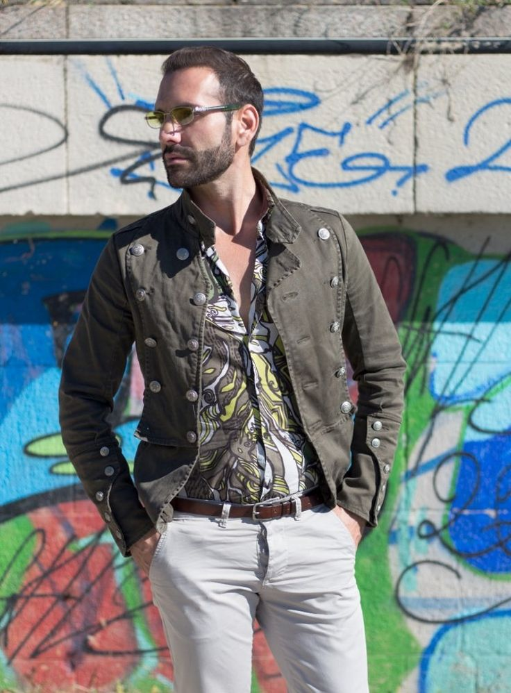 Stefano Zulian Karl Mommoo shirt male model fashion man