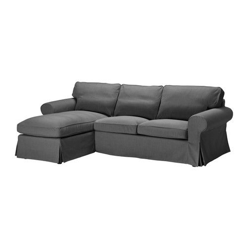 EKTORP Loveseat and chaise lounge IKEA The cover is easy to keep clean as it is removable and can be dry cleaned.